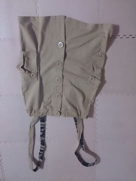 ベージュ巻きスカート 美品