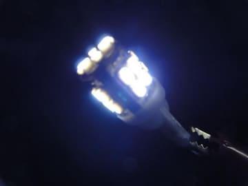 ホワイト T10SMD22連LEDバルブ ウェルカムランプ カーテシ