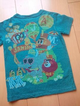 中古パレードTシャツ110JAM緑
