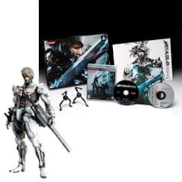 メタルギア・ライジング:コナミスタイル特別版■雷電(プレイアーツ改/限定版)PS3