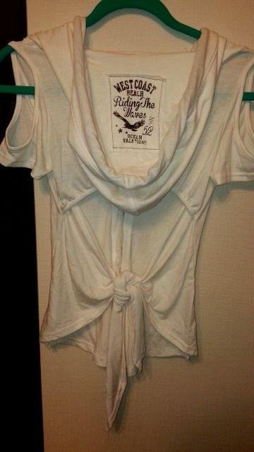 GARULA  背中開きフードシャツ < ブランドの