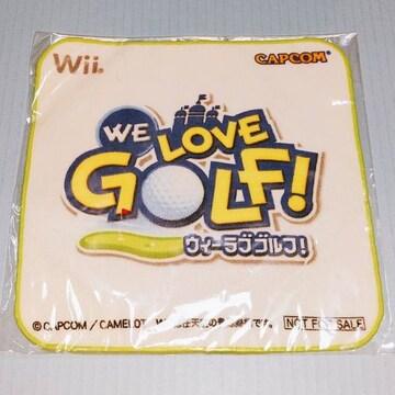 ●新品●Wii WE LOVE GOLF ミニハンカチ★