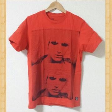 VOLCOM ボルコム Tシャツ S Kj アーティストシリーズ 赤 美品