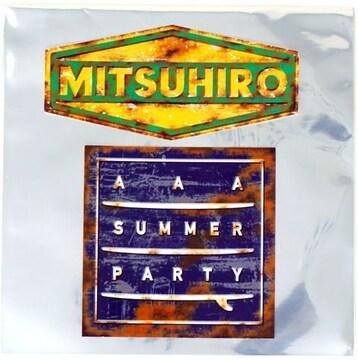 AAA SUMMER PARTY 2018 日高光啓 黄色 サインボードステッカー