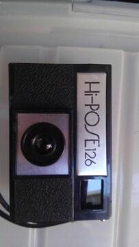 トイカメラ Hi-POSE 126カートリッジフィルム専用