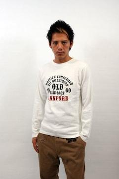 SANFORD(サンフォード)OLDロングTシャツ ロンT/ホワイトM