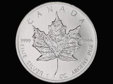 【新品】カナダ・2013年。メイプルリ-フ・1oz・純銀貨。