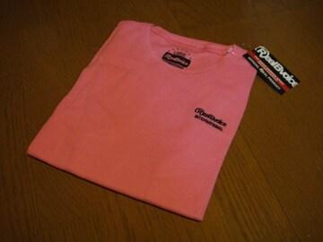 新品 リアルビーボイス メンズ 半袖 サーマル ピンク Tシャツ Lサイズ