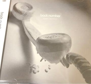 back number/HAPPY BIRTHDAY(ハッピーバースデー)/CDシングル