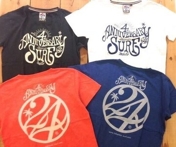 ♪24karatsSURF4周年Tシャツ♪EXILE ATSUSHI TAKAHIRO 三代目☆