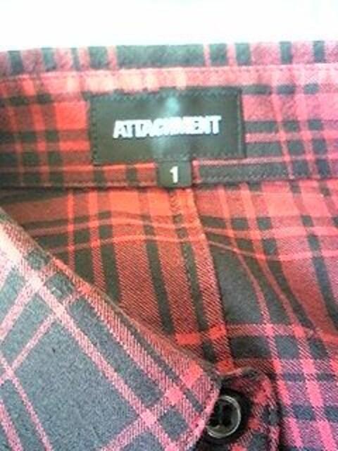 アタッチメント チェックシャツ < ブランドの