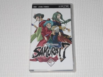 PSP★サムライ セブン 第十一巻 SAMURAI 7 UMD VIDEO