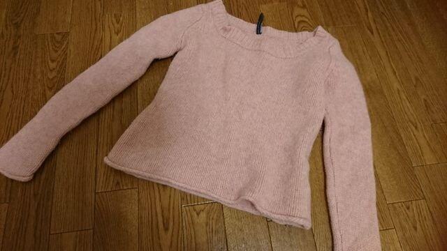 ピーチ・ジョン ピンク 羊毛セーター ニット  < 女性ファッションの