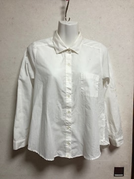 新品groveクレリック2WAYシャツブラウス白オフホワイトMビジネス
