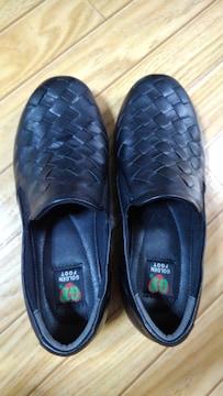 ◆ゴールデンフット◆婦人靴◆23センチ◆1回使用◆黒