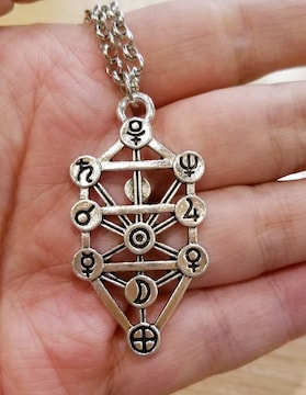 ユダヤの秘法カバラ セフィロトネックレス