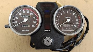 GS400国内メーターセット後期180k GT380CBX400Z400FXスピードメーター タコメーター