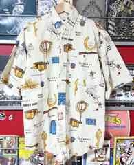 Panhandle Slim パンハンドルスリム ウエスタン カウボーイ 麻 リネンシャツ アメリカ製総柄