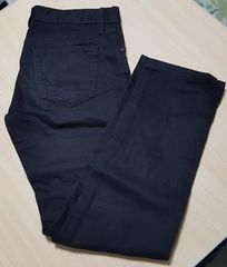 UNIQLO★黒のストレートジーンズ★30(76cm )美品です!