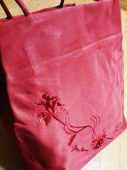 【在庫セール】マックスマーラ/ 草花ロゴ刺繍トートバッグ