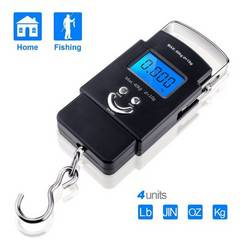 デジタル吊り下げ秤 計測 魚釣りに便利