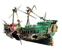 沈没船 アクアリウム 水槽 オブジェ オーナメント