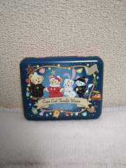 TDS♪ディズニークリスマス2018 ダッフィー キャンディー缶