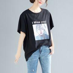 大きいサイズ☆プリントTシャツ5XL