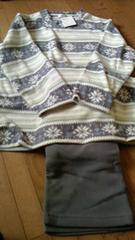 デパートで購入の新品厚手パジャマ定価5,900円です。