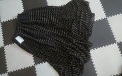 OZOC 新品 ロングスカート 水玉 Mサイズ