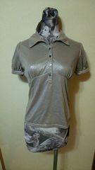 PROUD OF 未着用タグ付き 未使用新品 半袖ポロシャツ ブロンズ M
