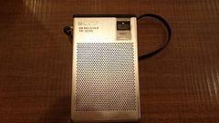 ソニーのトランジスターラジオ(AM-FM)