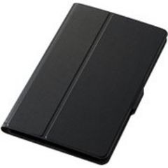 ★ELECOM [dtab Compact d-01J フラップカバー 薄型 ブラック