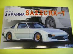 フジミ 1/24 インチアップ ID-80 マツダ サバンナ SA22C RX-7