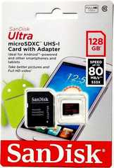 【新品未使用 Microsd 128GB マイクロSD 128GB】