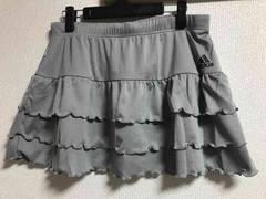 ★adidas Climalite グレー×ティアードスカート  OT★