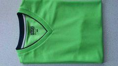 訳あり激安77%オフコスビー、ドライ、半袖Tシャツ(極美品、黄緑、M)