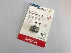 16GB sandisk microUSB USB3.0メモリ新品