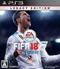 ■中古品■PS3 FIFA18 Legacy Edition (通常版製品) (最新作)