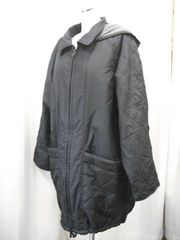 【男性用】中綿入り黒のコート