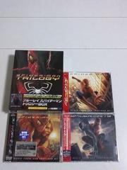 <送無>スパイダーマン豪華ブルーレイBOX9800円新品+サントラ3枚