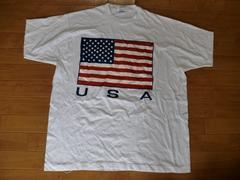 ヴィンテージ USA製 90s アメリカ国旗 Tシャツ 2XL