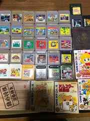 ゲームボーイソフトまとめ売り! 39本 マリオ カービィ ドラクエ