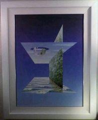 絵画 アクリル ケン・ショットウェル『コウプレイナー』真作保証  ルミナート画の開発者
