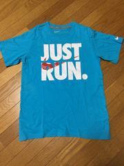 美品ナイキJUST RUN 半袖Tシャツ/M/ブルー