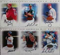DONRUSS.1996 LEAF SIGNATURE SERIES.直筆サインカード6枚セット �A MLB