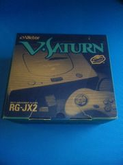 Victor V STAURN RG-JX2 ビクター Vサターン 箱・説付 ジャンク セガサターン