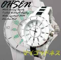 ☆新品☆激安☆ OHSEN 高級腕時計 ホワイト