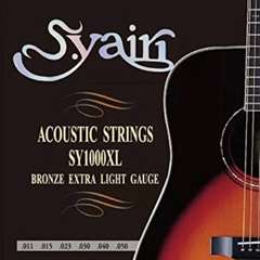 送料込み■新品■s.yairi アコースティックギター 弦 セット EL