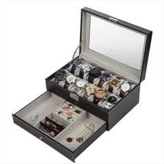 腕時計収納ケース ジュエリーケース 12本 ブラック